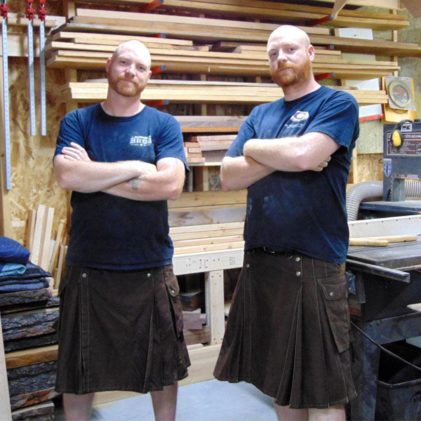 Kilt Clan Profile: Master Woodworkers, The Alexander Brothers
