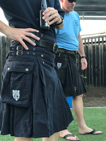 Jason and Justin of Kilted to Kick Cancer