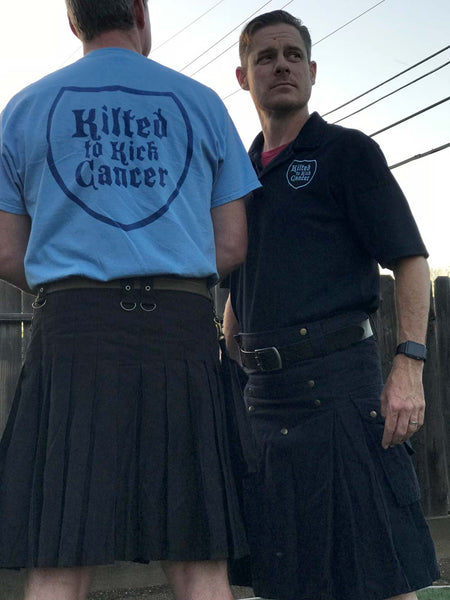 Jason Hoschouer answers the call of duty for Kilted to Kick Cancer