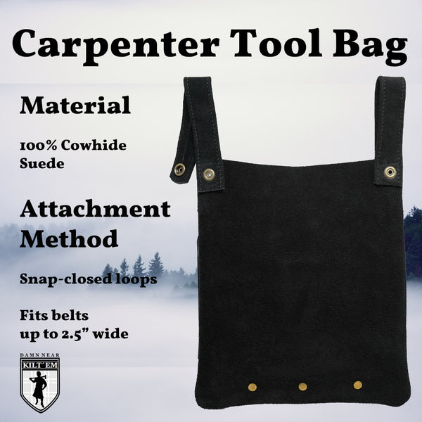 The Handiest of Carpenter Tool Bags