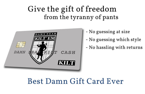 Best Damn Gift Card on the Internet