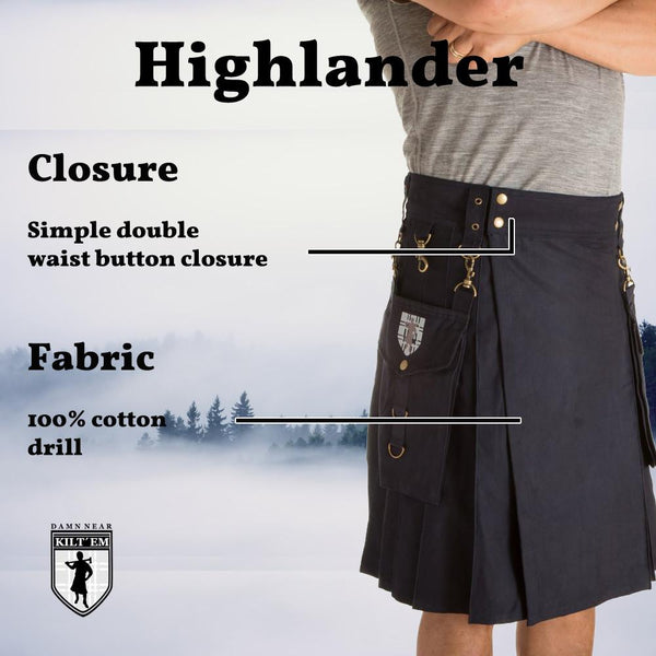 Highlander - Black