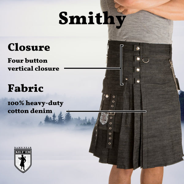 Smithy - Heavy denim durability