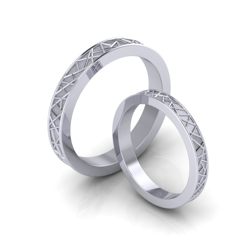 boucheron wedding us platinum band usa en facette