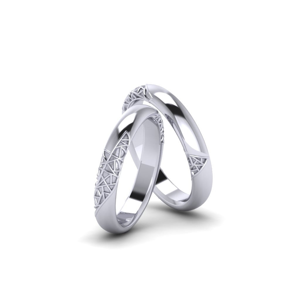 odiz platinum design ny band products bands shiree ring by rounded plain shiny rings wedding and gold