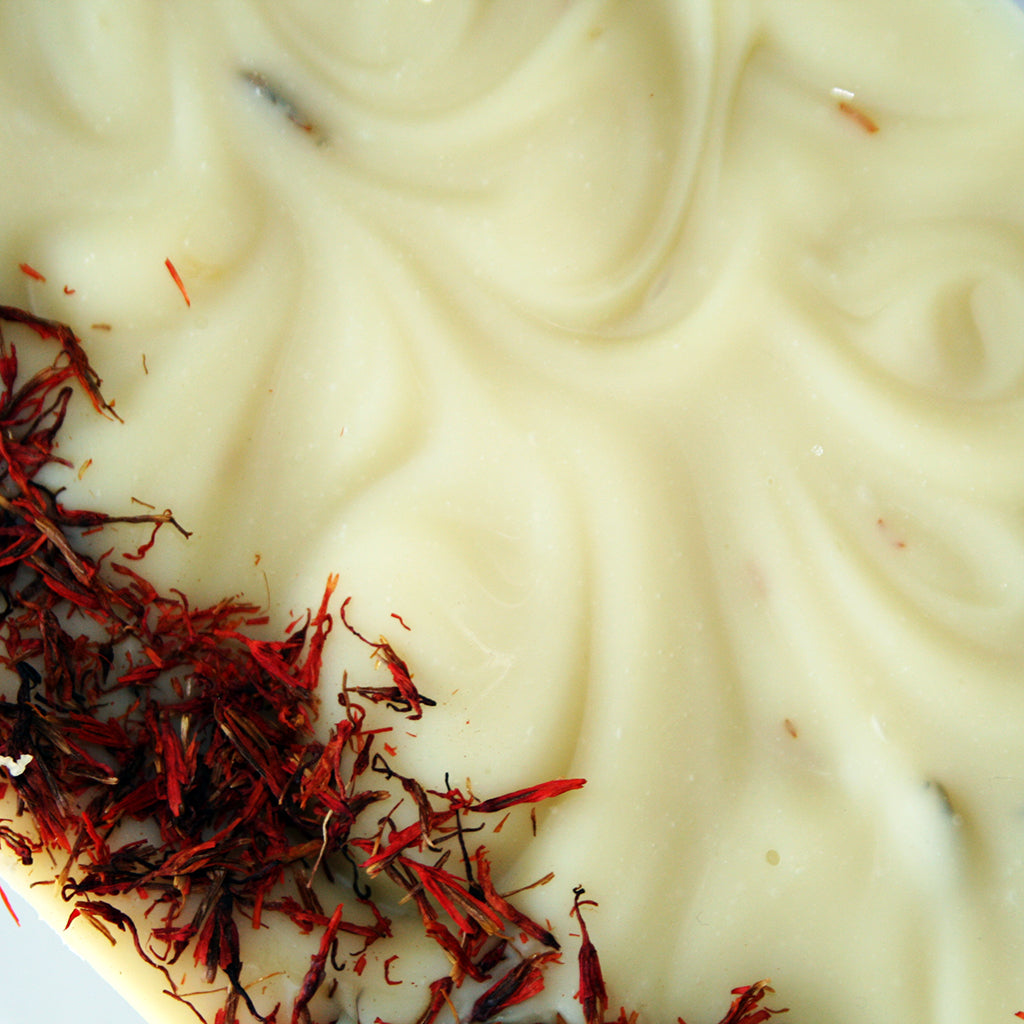 Citrus & Safflower Petal Handcrafted Soap | Vegan | Plant Based