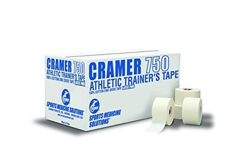 Cramer 750 1.5 in x 15 yd White Coach Athletic Tape