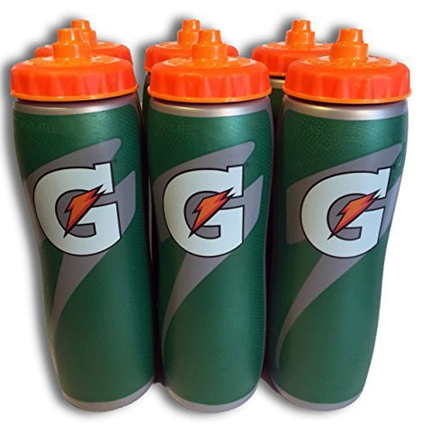 Gatorade Insulated 32 oz Water Bottle - 6 Pack