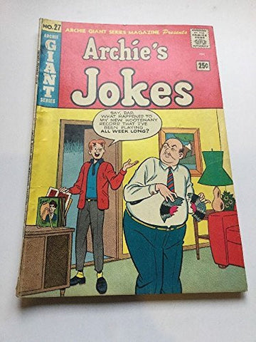 Archie's Jokes #27 Archie Giant Series