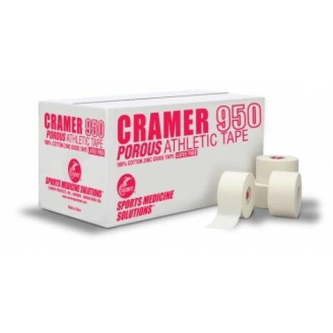 Cramer 950 1.5 in x 15 yd White Coach Athletic Tape