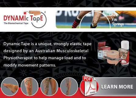 Dynamic Tape - Biomechanical Approach to Taping