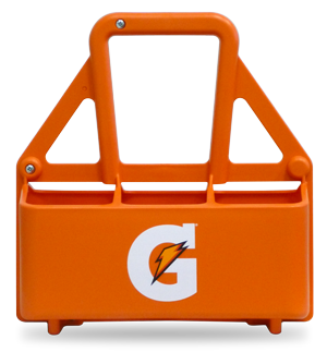 Gatorade Squeeze Bottle Carrier 6 Bottle Holder