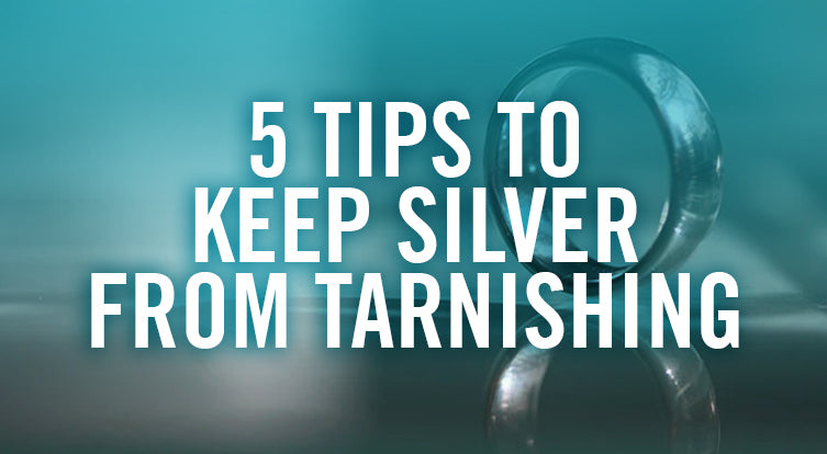 How to stop silver from tarnish