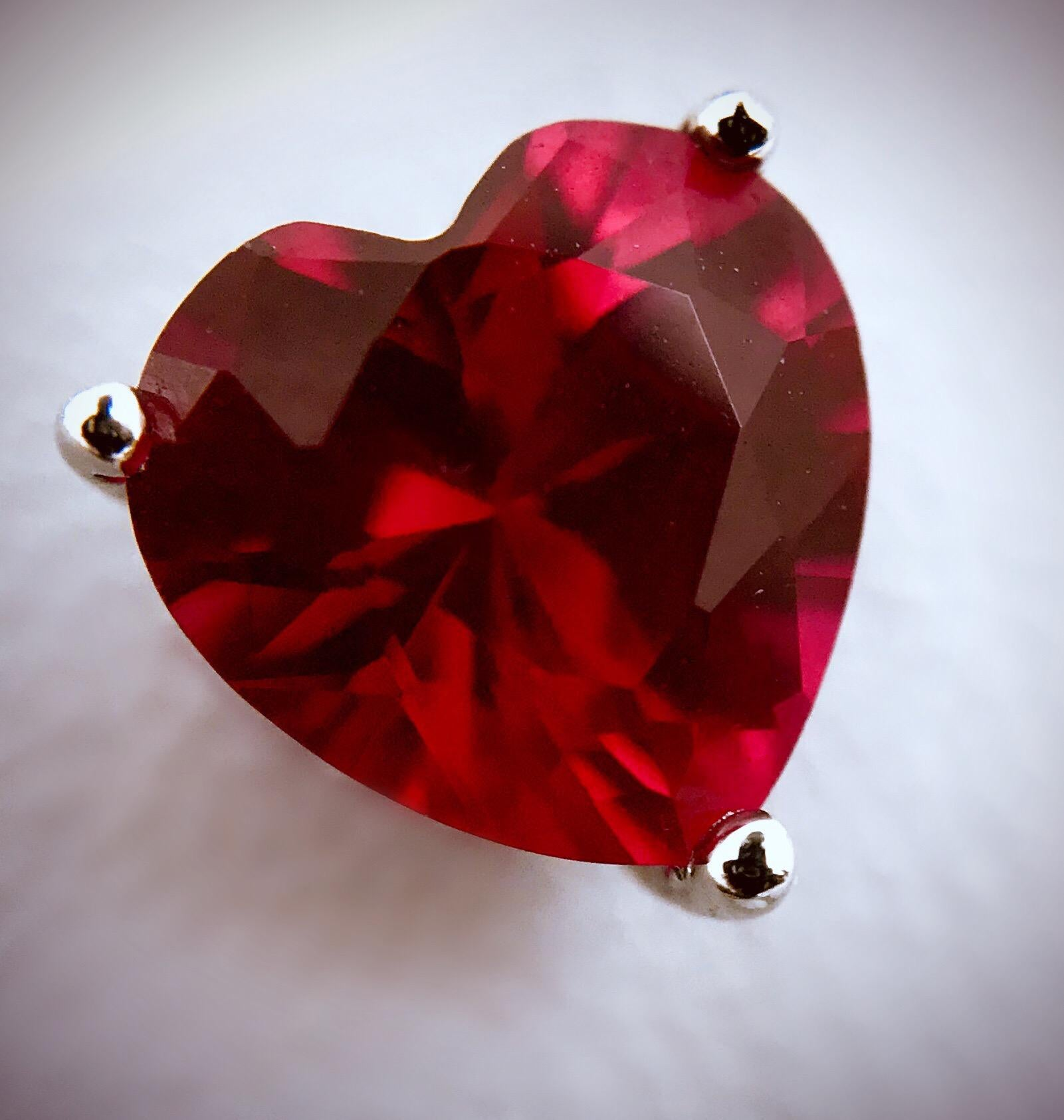 birthstone meanings and powers garnet heart
