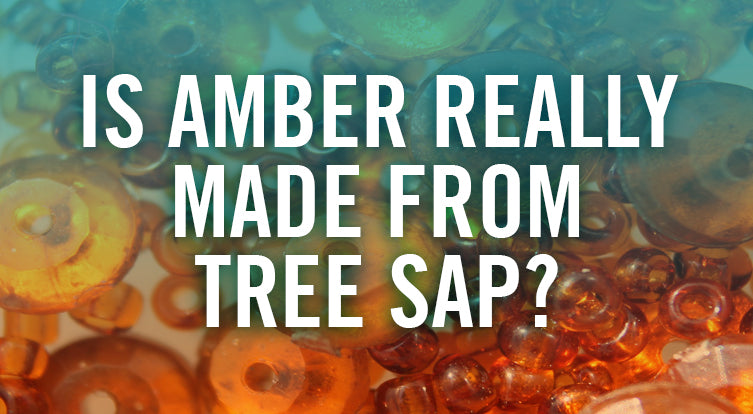What is amber made from