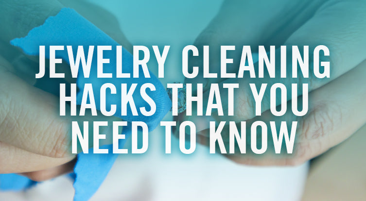 How to clean costume jewelry, gold and silver rings necklaces bracelets