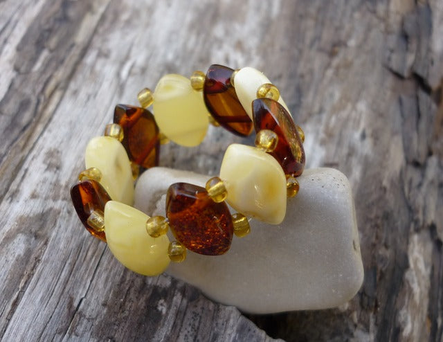 Is Amber Really Made From Tree Sap bernstein ring