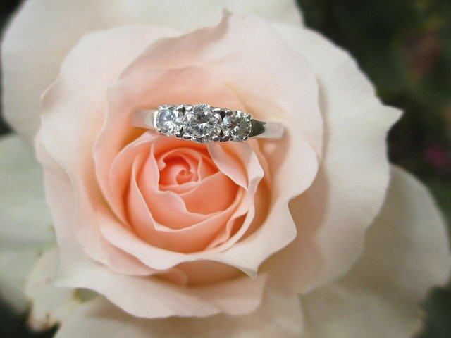 Great Gifts For Newly Engaged Women flower ring