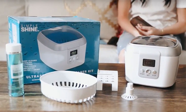 Sonic Cleaning Kit for Jewelry