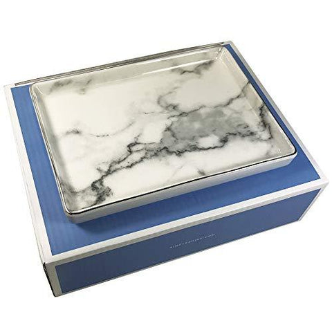 Jewelry - Marble Jewelry Dish Tray on angle