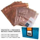 Jewelry - Premium Silver Tarnish Prevention Bags Laying