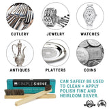 Jewelry - Silver Cleaning Brushes With Platters Watches Jewelry