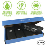Shoe - Charcoal Shoe Deodorizers Open Box