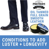 Shoe - Mink Oil Shoes Standing Product Open