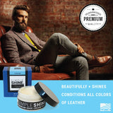 Shoe - Premium Leather Cream Polish Lifestyle
