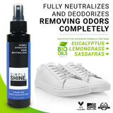 Shoe - Premium Shoe Deodorizer Foot Spray - 4oz Neutralizes ingredients