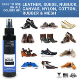 Shoe - Premium Shoe Deodorizer Foot Spray - 4oz Different Shoe Types