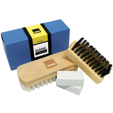 Shoe - Premium Suede Brush Set