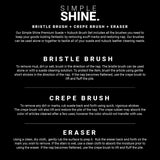 Shoe - Premium Suede Brush Set Instructions