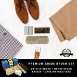 Shoe - Premium Suede Brush Set on Table