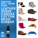 Shoe - Shoe Cleaning Solution For Sneakers, Canvas, And Boots Different Shoe Types