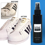 Shoe - Shoe Cleaning Solution For Sneakers, Canvas, And Boots Sneakers before and after