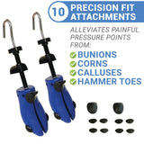 Shoe - Shoe Stretchers With Bunion Corn Attachments