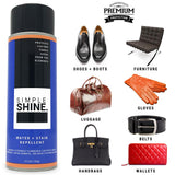 Shoe - Water Repellent Spray And Stain Protector Works on These Leather Items