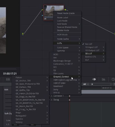 Resolve 14 LUT loading