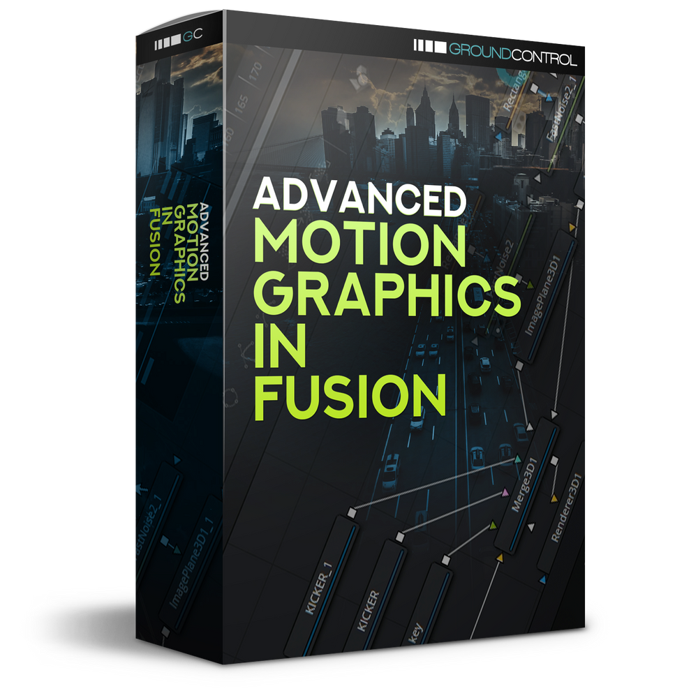 Advanced Motion Graphics In Fusion