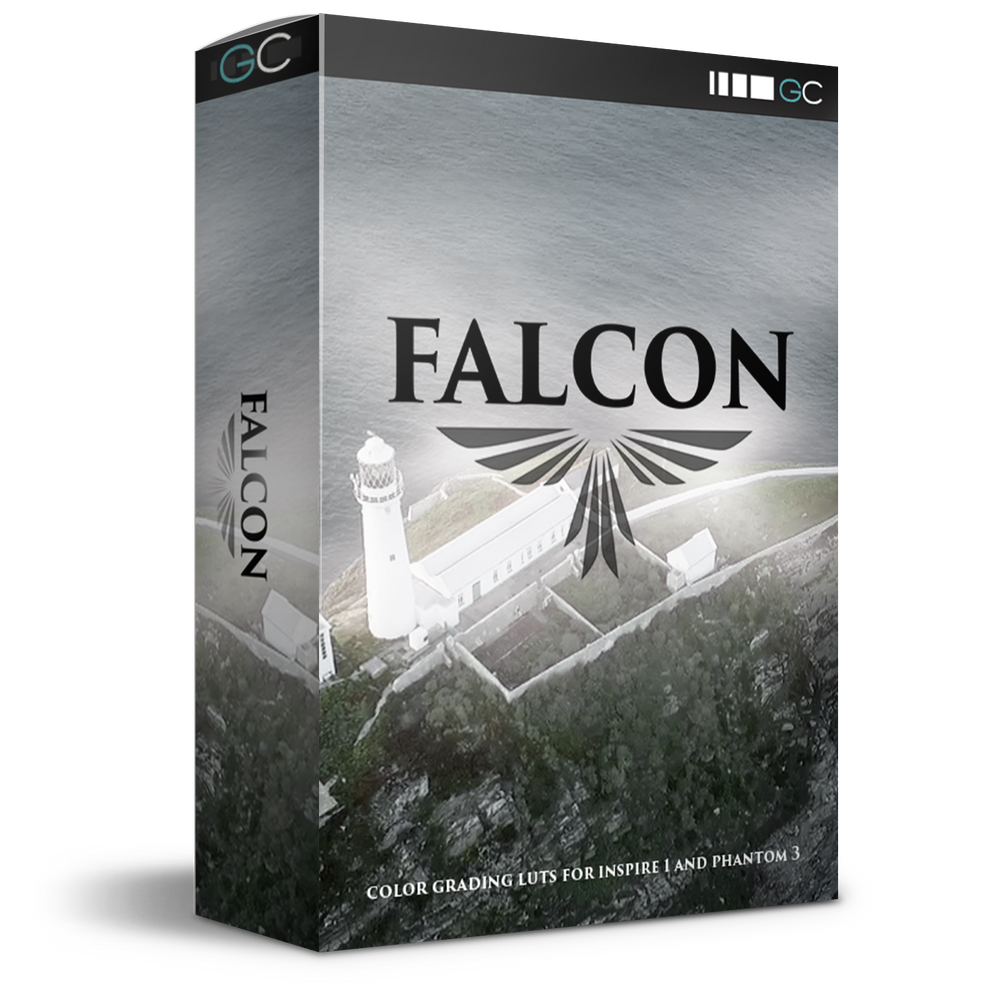 Falcon LUTs for DJI Inspire 1 & Phantom 3
