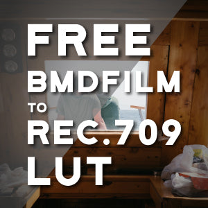 FREE BMDFilm to Rec.709 LUT