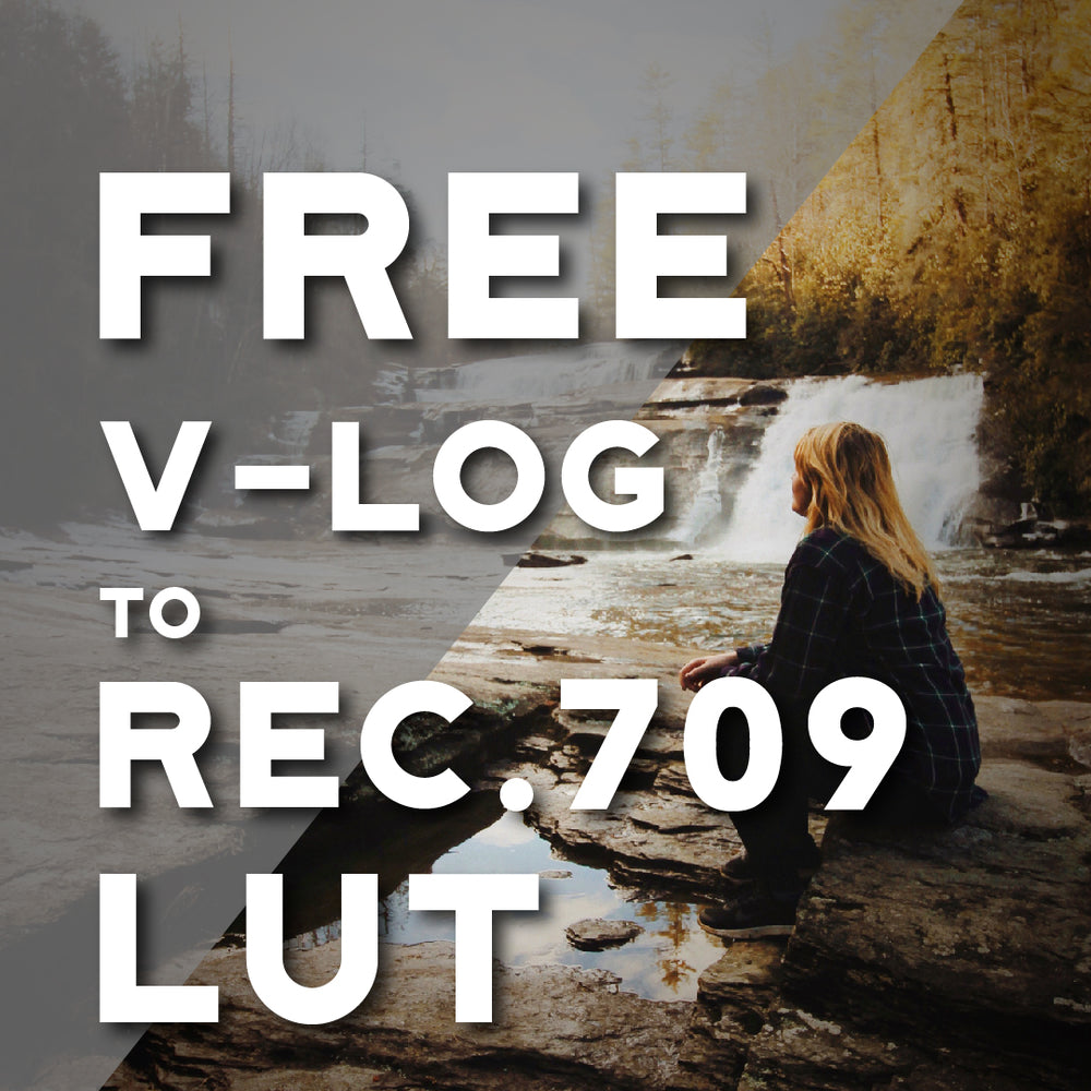 FREE Panasonic V-Log to Rec.709 LUT