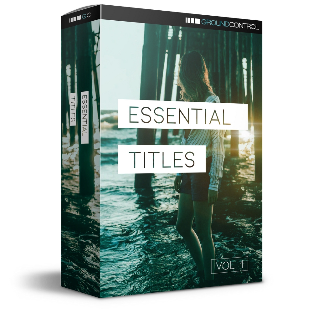 Essential Titles For DaVinci Resolve Vol 1