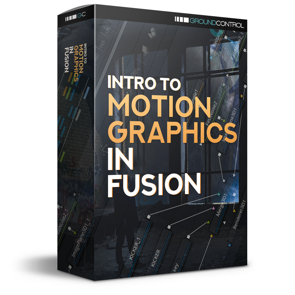 Intro To Motion Graphics In Fusion