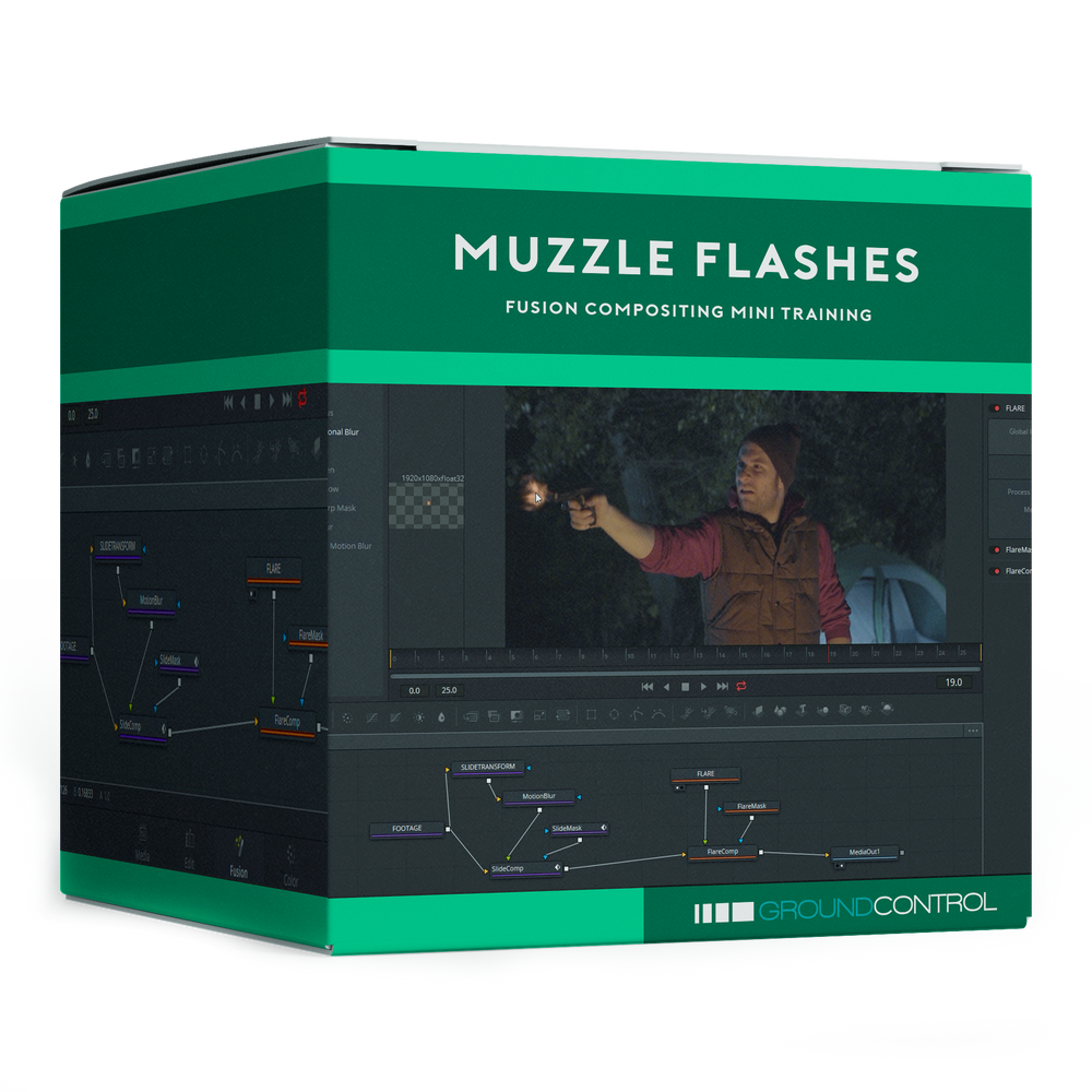 Mini Training: Muzzle Flashes in Fusion