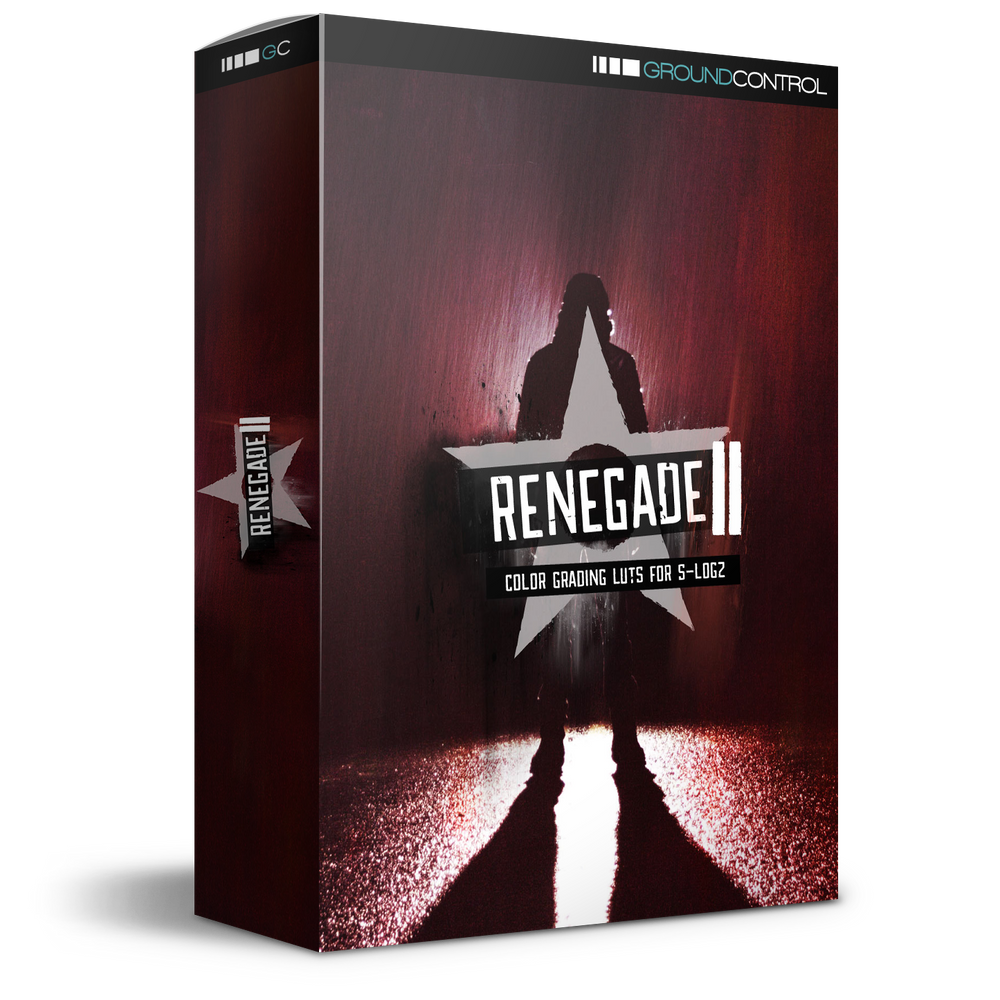 Renegade 2 LUTs for S-Log2