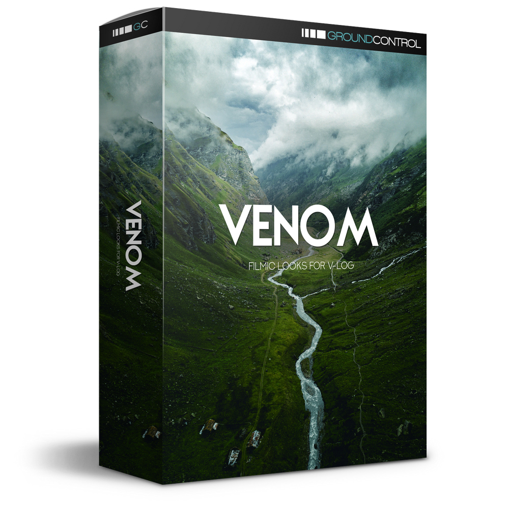 Venom LUTs for V-Log