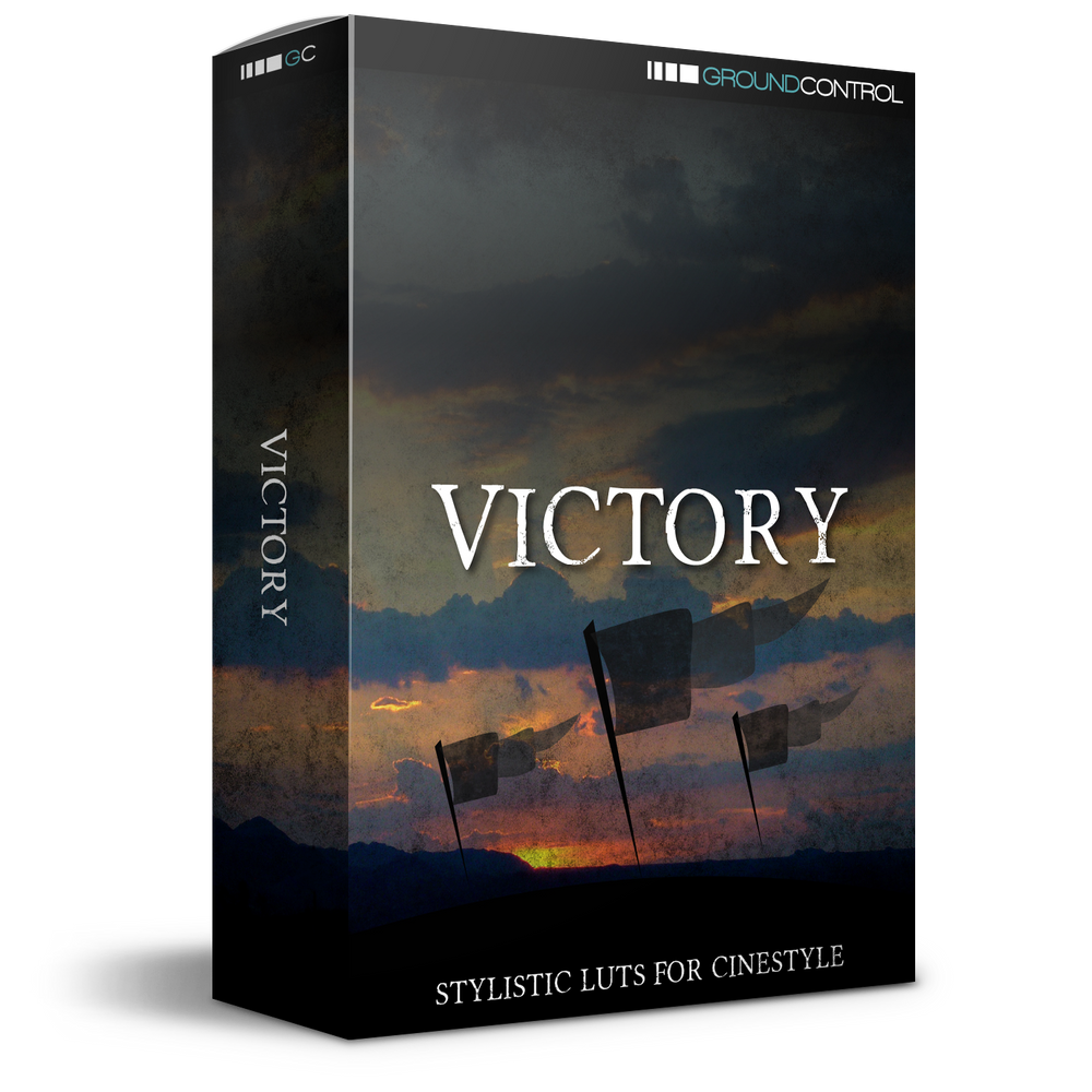 Victory LUTs for Cinestyle