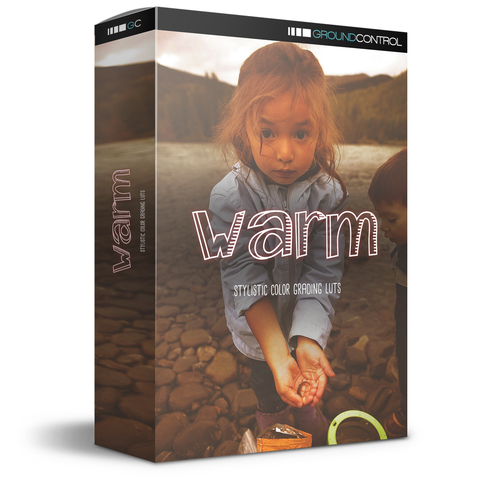 Warm - Stylistic Color Grading LUTs